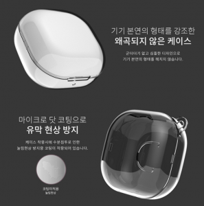 Case Galaxy Buds Live trong suốt WAVES (Korea)